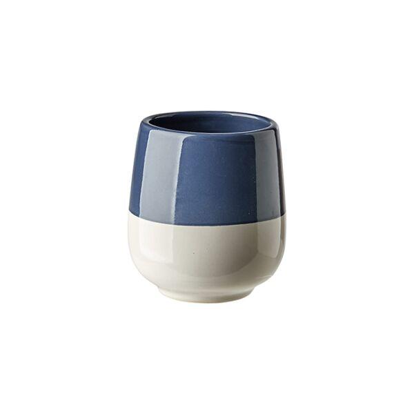 Dianella kávéscsésze, fehér/kék kerámia