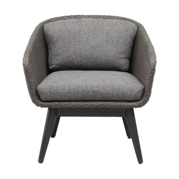 Bellevue fotel sötét szürke